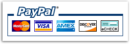 Buy Korexin™ with Paypal, Visa, Mastercard, Discover Card, American Express & eChecks
